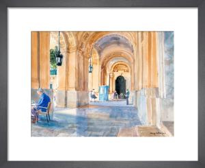 Valletta Arcade by Lucy Willis