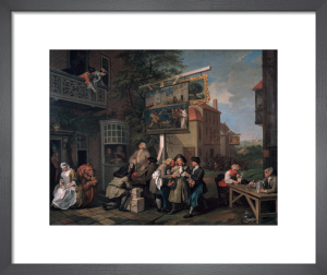 An Election II: Canvassng for Votes by William Hogarth