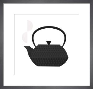 Iron Tea Pot by Clare Owen