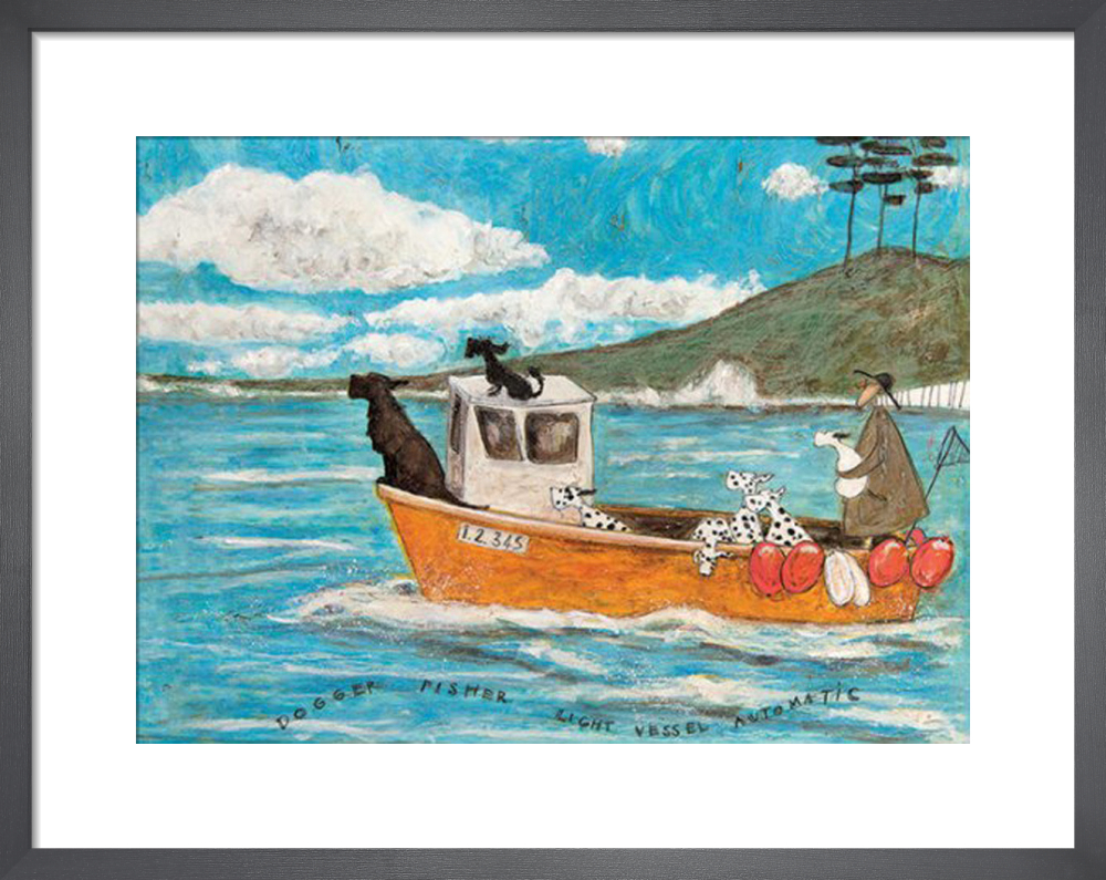 Dogger, Fisher, Light Vessel Automatic by Sam Toft