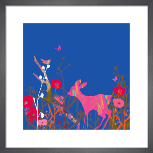 Little Bird and Deer Sky by Tiffany Lynch
