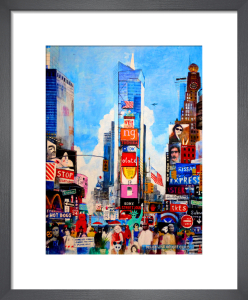 Times Square II by Andy Mercer