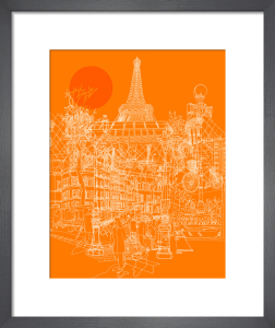Paris Tango by David Bushell