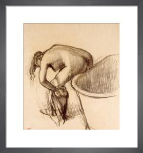 Apres le Bain by Edgar Degas