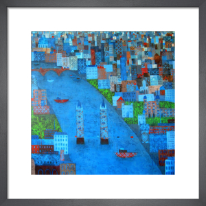 Patchwork City by Emma Brownjohn