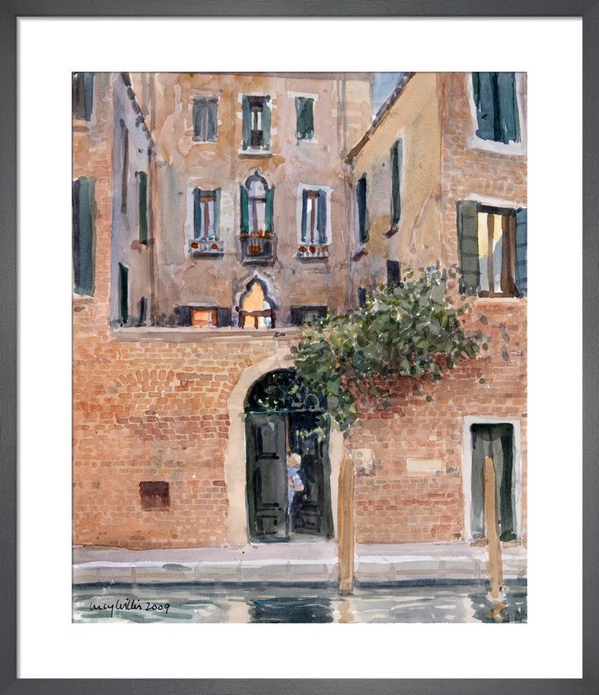 Evening Sun Reflected, Venice by Lucy Willis