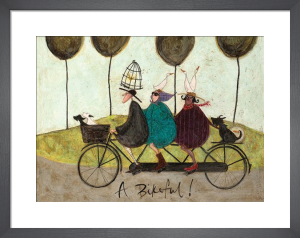A Bikeful! by Sam Toft