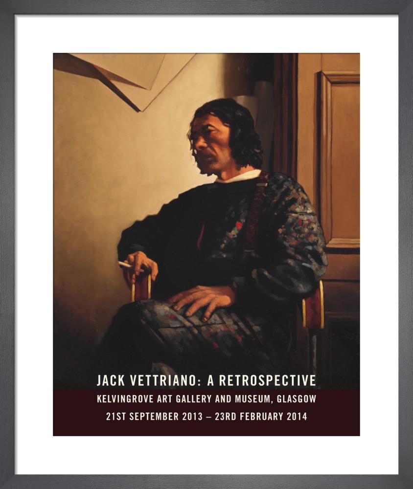 Portrait of the Artist - Retrospective 2014 by Jack Vettriano