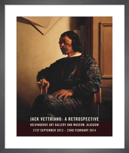 Portrait of the Artist - Retrospective 2014 by Jack Vettriano