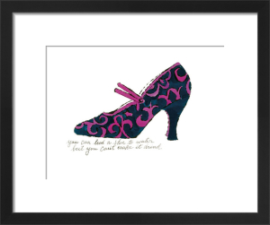 A la Recherche du Shoe Perdu, 1955 by Andy Warhol