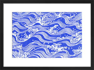 Waves by Anonymous
