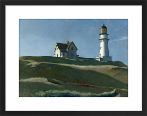 Lighthouse Hill, 1927 by Edward Hopper
