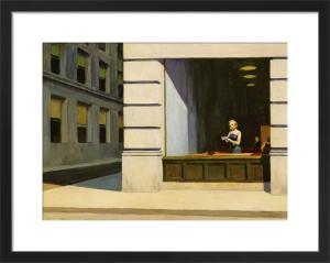New York Office, 1962 by Edward Hopper