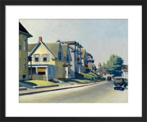 Sun on Prospect Street (Gloucester, Massachusetts), 1934 by Edward Hopper