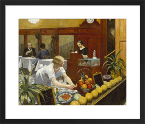 Tables for Ladies, 1930 by Edward Hopper
