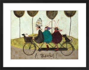 A Bikeful! by Sam Toft