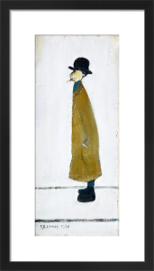 Gentleman Looking At Something, 1960 by L S Lowry