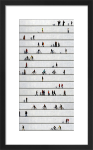 Wall People No.8 by Eka Sharashidze