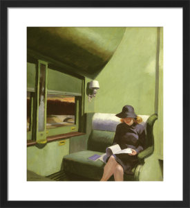 Compartment C, Car 293, 1938 by Edward Hopper