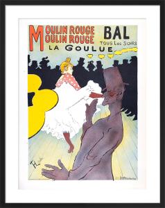 La Goulue by Henri de Toulouse-Lautrec
