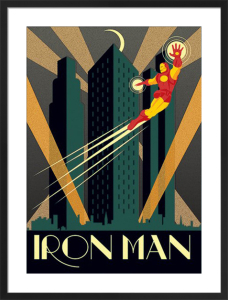 Marvel Deco - Iron Man by Marvel Comics