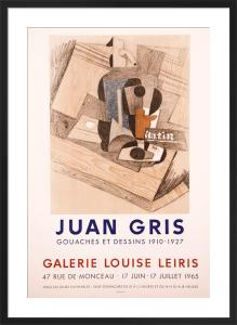 Galerie Louise Leiris by Juan Gris