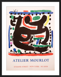 Atelier Mourlot, Bank Street, New York by Joan Miro