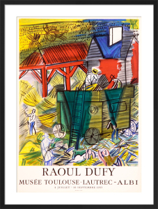 Musee Toulouse-Lautrec by Raoul Dufy