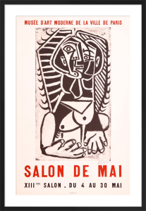Salon de Mai by Pablo Picasso