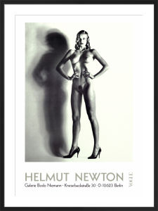 Big Nude by Helmut Newton
