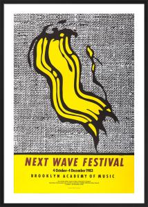 Next Wave Festival, 1983 by Roy Lichtenstein