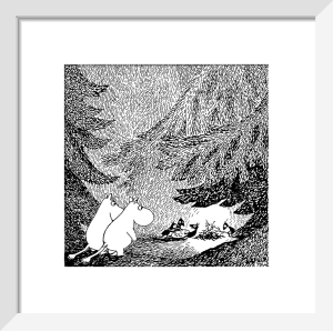 Moomins in the Forest by Tove Jansson
