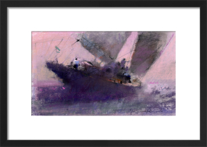 Late Sailing by John Harris