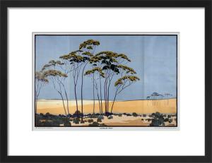 Empire Marketing Board - Australian Wheat by A B Webb