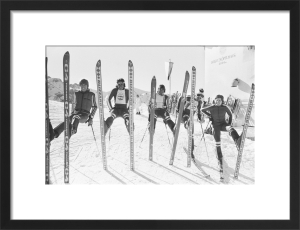 British Ski Team 1976 by Mirrorpix