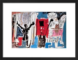 Obnoxious Liberals, 1982 by Jean-Michel Basquiat