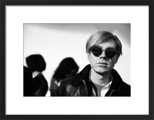 Andy Warhol, 1966 (2) by Nat Finkelstein