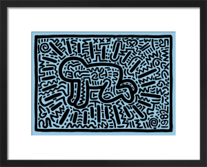 Untitled (baby) by Keith Haring