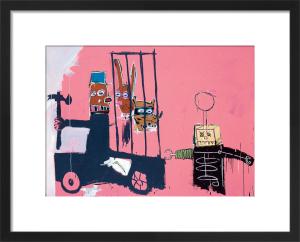 Molasses, 1983 by Jean-Michel Basquiat