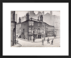 Great Ancoats Street, Manchester, 1930 by L S Lowry