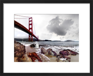 Golden Gate Bridge by Henry Reichhold