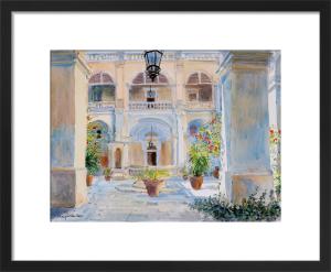 Vilhena Palace, Mdina, Malta by Lucy Willis