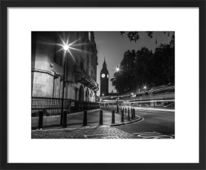 Big Ben Street Corner by Assaf Frank