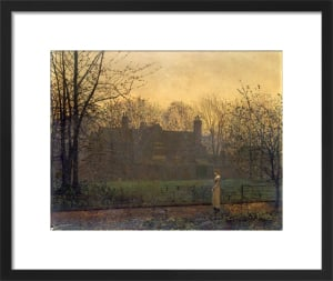 Chill of Autumn by John Atkinson Grimshaw