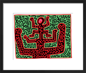 Untitled, KH07 by Keith Haring