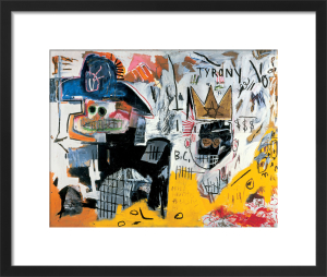 Untitled (Tyrany) 1982 by Jean-Michel Basquiat