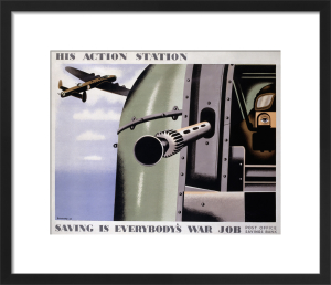 His Action Station - Saving is Everybody's War Job by Tom Eckersley