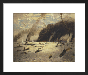 The Little Ships at Dunkirk - June 1940 by Norman Wilkinson