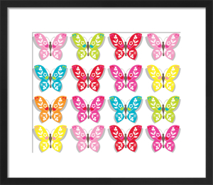 Butterflies by Marie Perkins