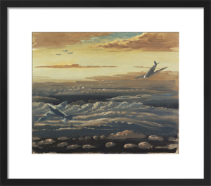 Clouds and Spitfires by Sir Walter Thomas Monnington